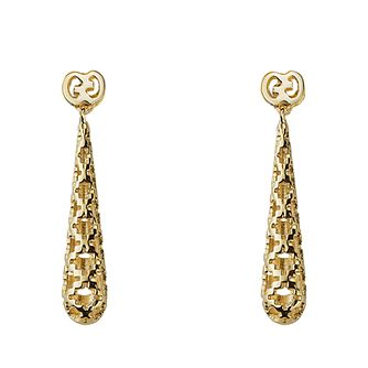 Gucci Diamantissima 18ct gold drop earrings - Product number 2016125
