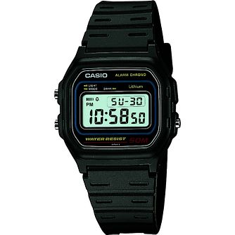 Casio Men's Grey Resin Strap Digital Watch - Product number 2017075