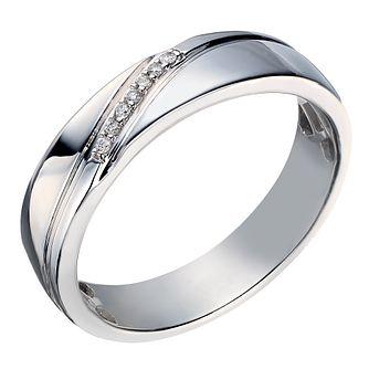 White Gold Wedding Rings HSamuel