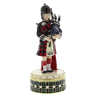 Scottish Piper Trinket Box - Product number 2029006