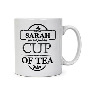 Personalised 'Just my Cup of Tea' Mug - Product number 2032600