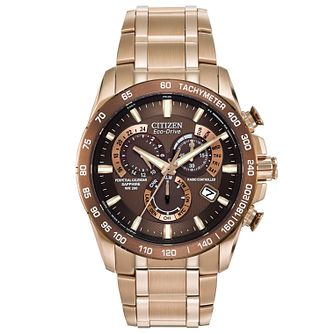 Citizen Eco-Drive Perpetual men's chronograph watch - Product number 2039354