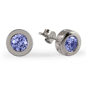 Radley Lilac Cubic Zirconia Silver Stud Earrings - Product number 2080133