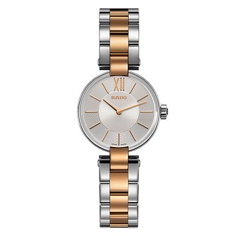 Rado Coupole ladies' two colour bracelet watch - Product number 2087928