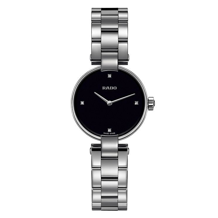 Rado Coupole ladies' diamond stainless steel bracelet watch - Product number 2087936