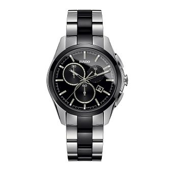 Rado men's stainless steel & black ceramic bracelet watch - Product number 2088185