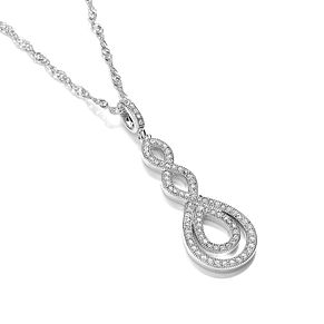 Buckley London Woven Design Crystal Pendant - Product number 2119153