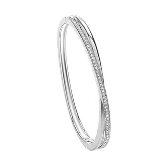Buckley London Crossover Crystal Bangle - Product number 2119161