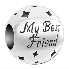 Chamilia Inspirations Sterling Silver My Best Friend Charm - Product number 2144557