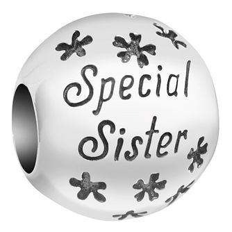 Chamilia Inspirations Sterling Silver Special Sister Bead - Product number 2144581