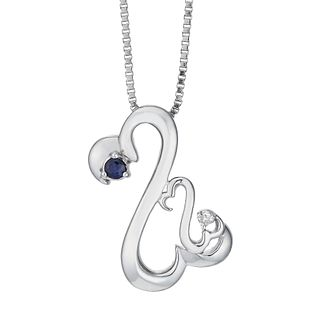 Open Hearts Family By Jane Seymour Sapphire Diamond Pendant - Product number 2155001