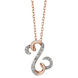 Open Hearts By Jane Seymour 9ct Rose Gold Diamond Pendant - Product number 2156504
