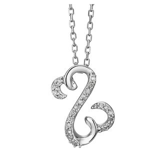 Open Hearts By Jane Seymour 9ct White Gold Diamond Pendant - Product number 2159244