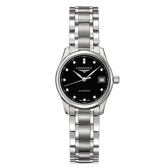 Longines Master Collection Ladies' Diamond Bracelet Watch - Product number 2162156