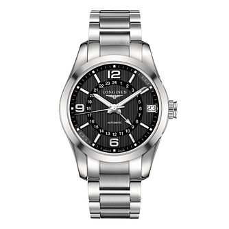 Longines men's stainless steel bracelet watch - Product number 2162369