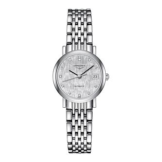 Longines Elegant Ladies' Diamond Bracelet Watch - Product number 2162687