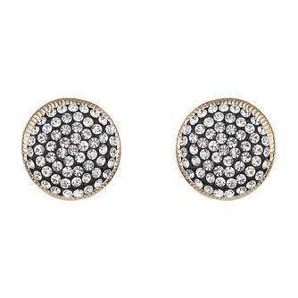 Mikey Pave Set Round Crystal Stud Earrings - Product number 2166445