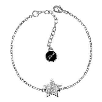 Karl Lagerfeld Swarovski Star Rhodium Plated Bracelet - Product number 2170493