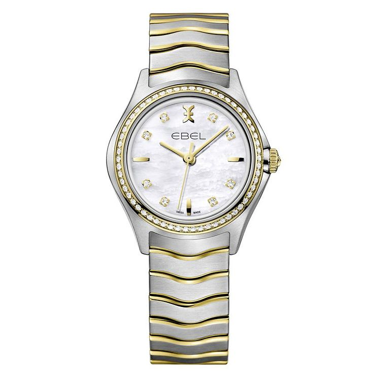 Ebel Wave ladies' mother of pearl two colour bracelet watch - Product number 2173514