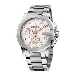 Gucci men's stainless steel bracelet watch - Product number 2173778