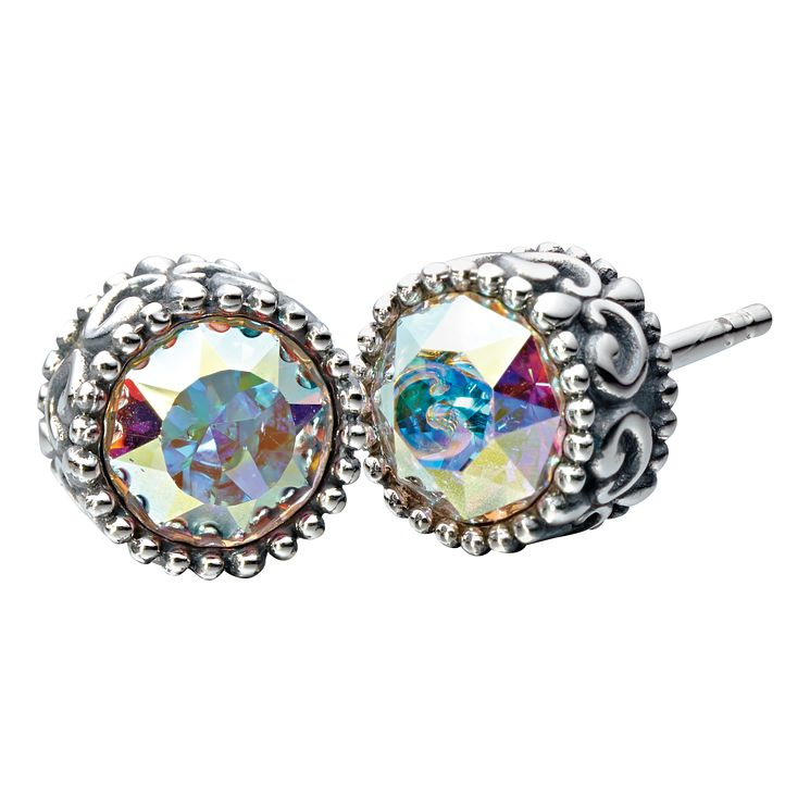 Chamilia Silver & Swarovski Crystal Stud Earrings - Product number 2178389