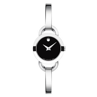Movado Rondiro ladies' stainlesss steel bangle watch - Product number 2180421