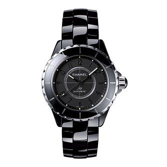 Chanel J12 Black Ceramic Bracelet Watch - Product number 2183684
