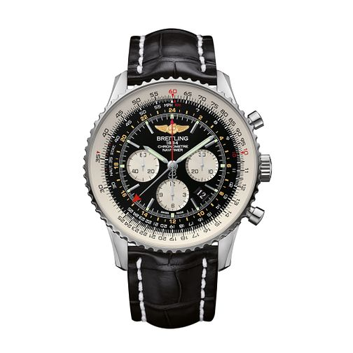 Breitling Navitimer GMT chronograph men's strap watch - Product number 2188155