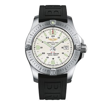 Breitling Colt men's stainless steel rubber strap watch - Product number 2190494