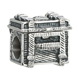 Chamilia Sterling Silver Steamer Trunk Bead - Product number 2207516