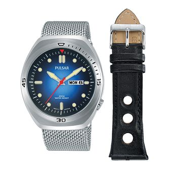 Pulsar Men's Interchangeable Strap Watch Gift Set - Product number 2209543
