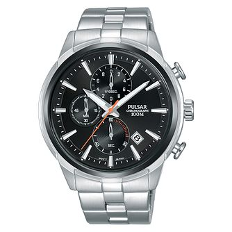 Pulsar Solar Men's Stainless Steel Bracelet Watch - Product number 2209616