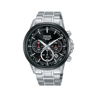 Pulsar Men's Chronograph Stainless Steel Bracelet Watch - Product number 2209667