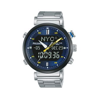 Pulsar Men's Chronograph Stainless Steel Bracelet Watch - Product number 2209780