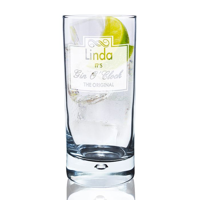 Gin O Clock Hi Ball Bubble Glass - Product number 2215713