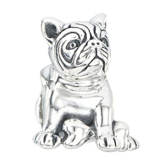 Chamilia sterling silver bull dog bead - Product number 2225646