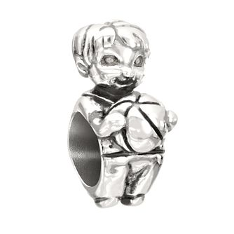 Chamilia Snips & Snails Boy sterling silver bead - Product number 2226189