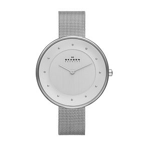 Skagen Gitte Ladies' Stainless Steel Mesh Bracelet Watch - Product number 2232014