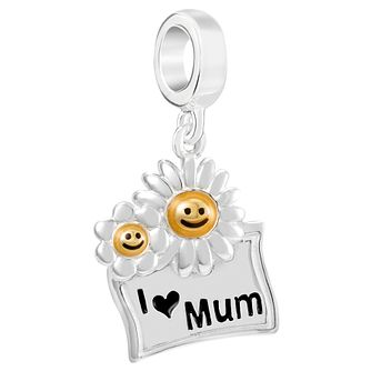 Chamilia I Love Mum Sterling Silver Charm - Product number 2236850