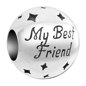 Chamilia Inspirations My Best Friend Sterling Silver Charm - Product number 2237210