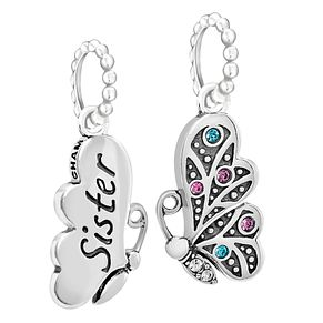 Chamilia Butterfly Duo Sister Swarovski Crystal Charms - Product number 2240505