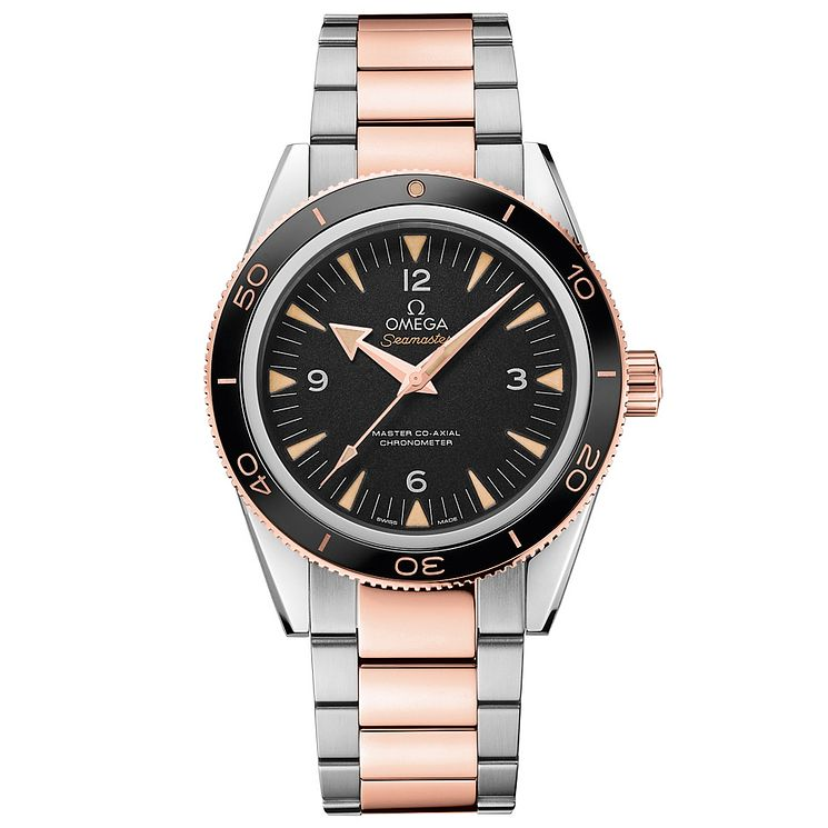 Omega Seamaster 300 Men's Two Colour Bracelet Watch - Product number 2243105