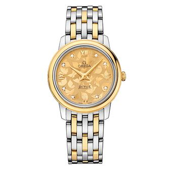 Omega De Ville Prestige Quartz ladies' bracelet watch - Product number 2243733