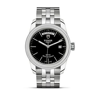 Tudor Glamour Date & Day Ladies' Stainless Steel Watch - Product number 2244772