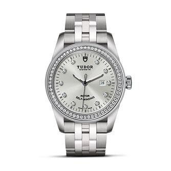 Tudor Ladies' Stainless Steel Diamond Bezel Bracelet Watch - Product number 2244969