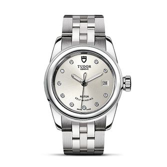 Tudor Ladies' Stainless Steel Diamond Bracelet Watch - Product number 2245035