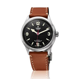 Tudor Heritage Ranger Men's  Leather Strap Watch - Product number 2245159