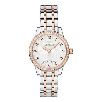 Montblanc Boheme ladies' two colour bracelet watch - Product number 2252120