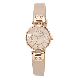 Anne Klein Ladies' Rose Gold Tone Pink Blush Watch - Product number 2258153