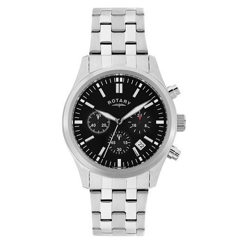 Rotary Men's Stainless Steel Chronograph Sports Watch - Product number 2268434